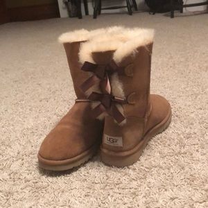Chestnut Bailey Bow Ugg Boots